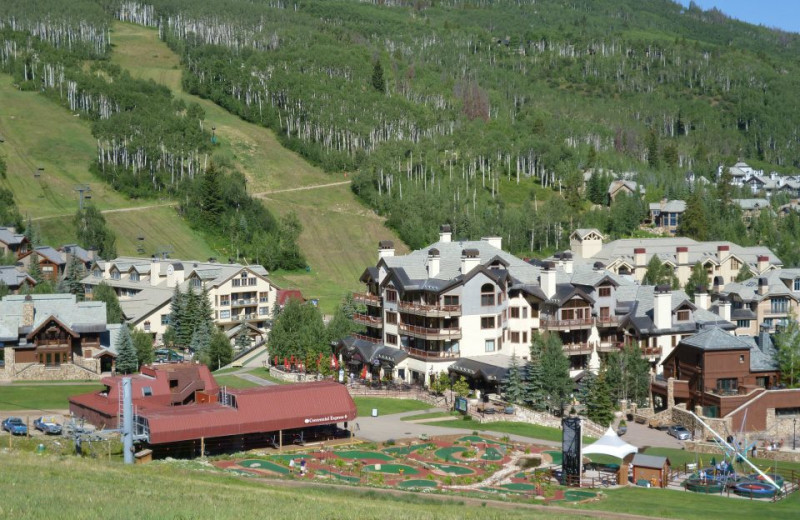 Exterior view of East West Resorts Beaver Creek.