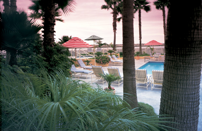 Outdoor pool at The Portofino Hotel & Yacht Club.