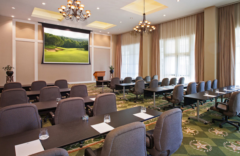 Meeting room at Omni Barton Creek Resort & Spa.