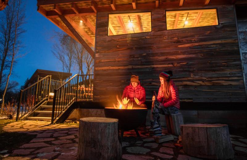 Winter at Fireside Resort at Jackson Hole.