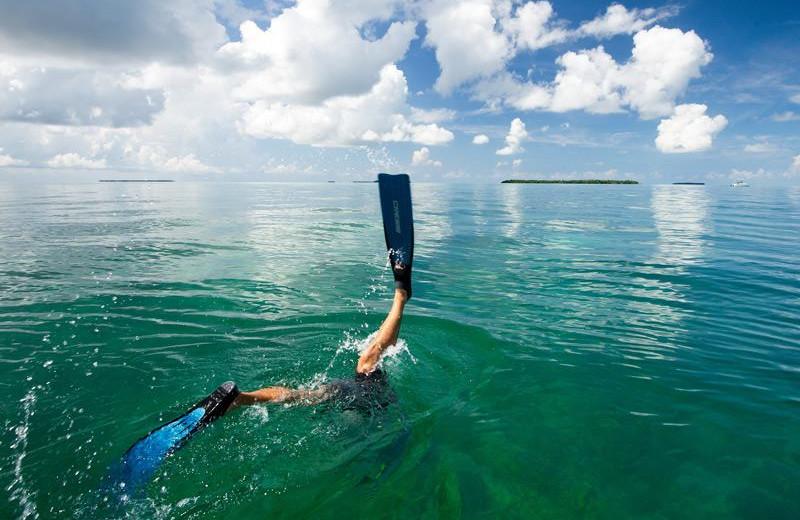 Snorkeling at The Banyan Resort.