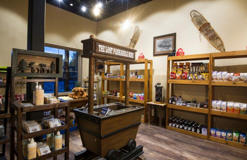 Gift room at Stoneridge Resort.