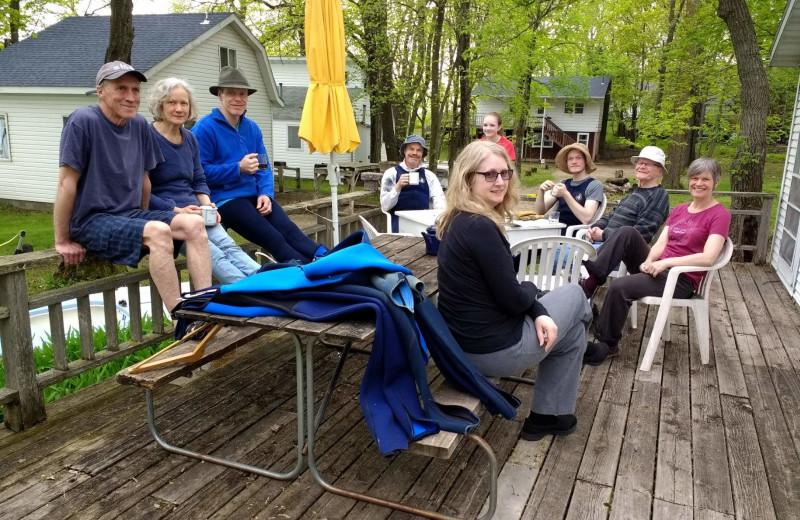 Reunions at Woodlawn Resort.