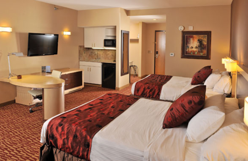 Double Suite at  Lakeside Hotel Casino