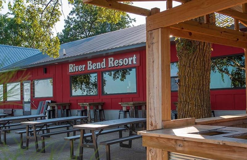 Dining at River Bend's Resort & Walleye Inn.