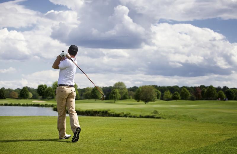 Golf near Harbor Shores on Lake Geneva.