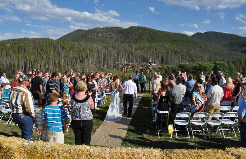 Wedding at Homestake Lodge.