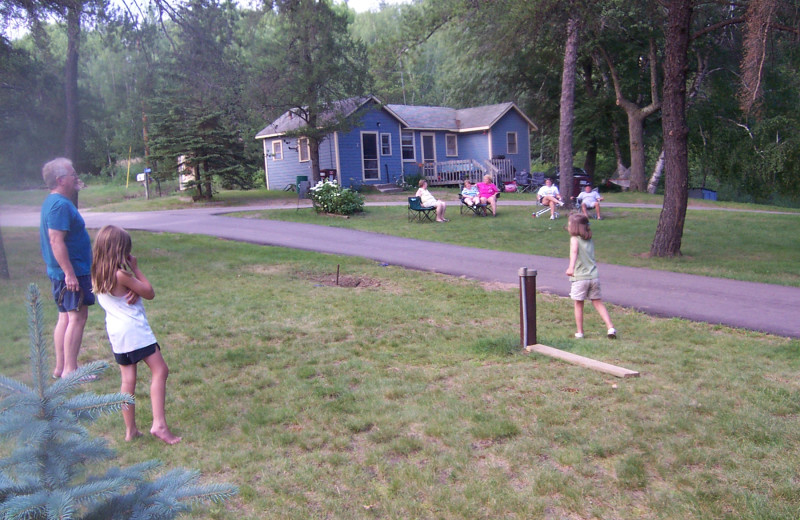 Family at Shady Hollow Resort and Campground.