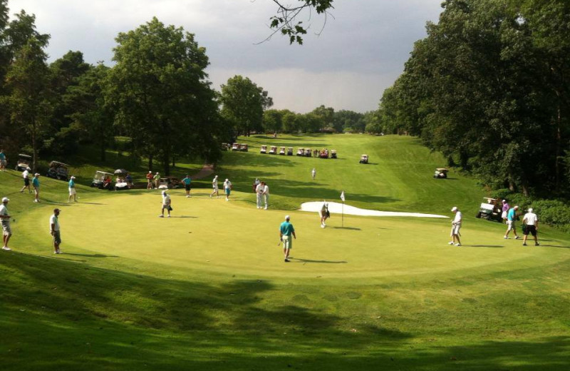 Golf course near Canterbury Chateau Bed & Breakfast.