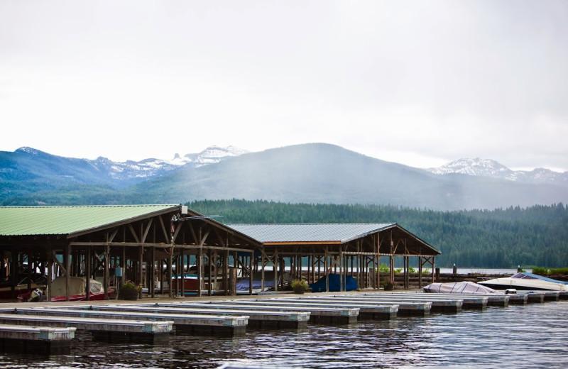 Marina at Elkins Resort.