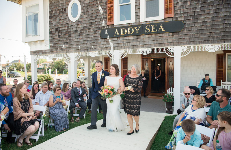 Weddings at The Addy Sea.