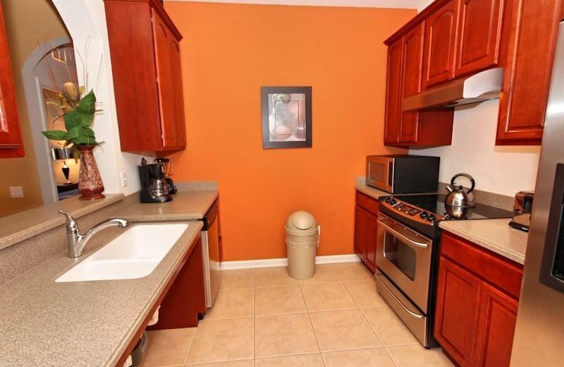 Vacation rental kitchen at Vista Cay Inn.