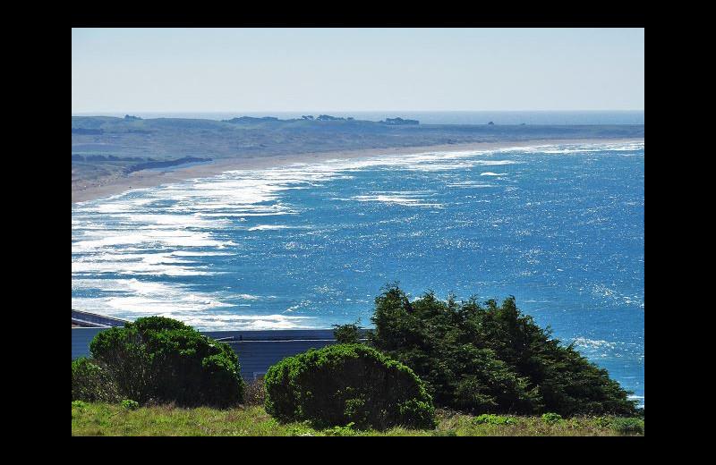 Beach view at Irish Beach Rental Agency.