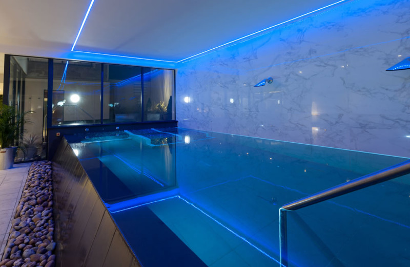 Indoor pool at Appleby Manor.