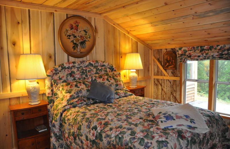 Guest room at Singletree Gun & Plough.
