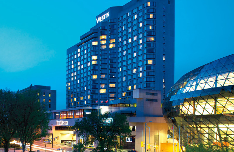 Exterior view of The Westin Ottawa.
