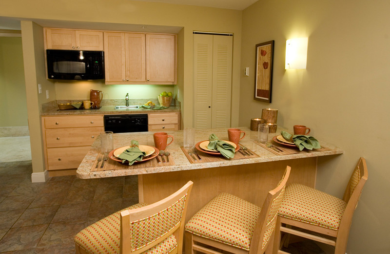 Suite Kitchen at DiamondHead Beach Resort
