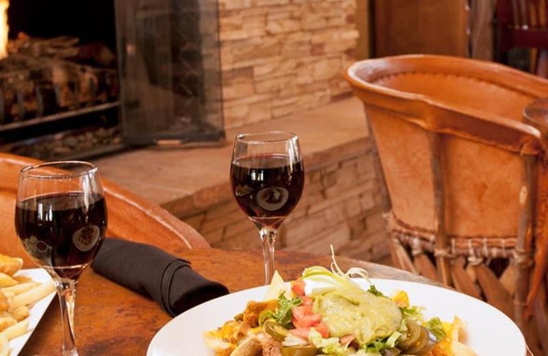 Dining at Riverpark Inn.