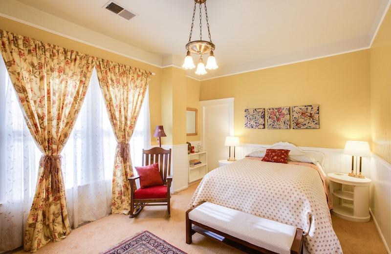 Guest room at Cedar Hill Bed & Breakfast.
