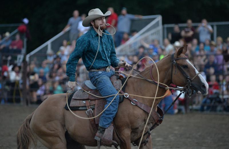 Rodeo at Malibu Dude Ranch