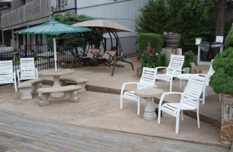 Patio View at Summerset Inn Resort