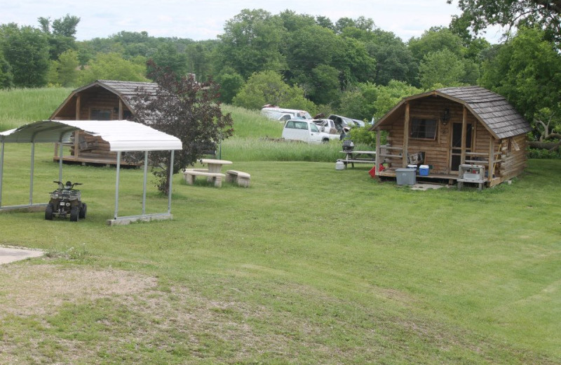 Exterior view of Heisler's Country Camping.