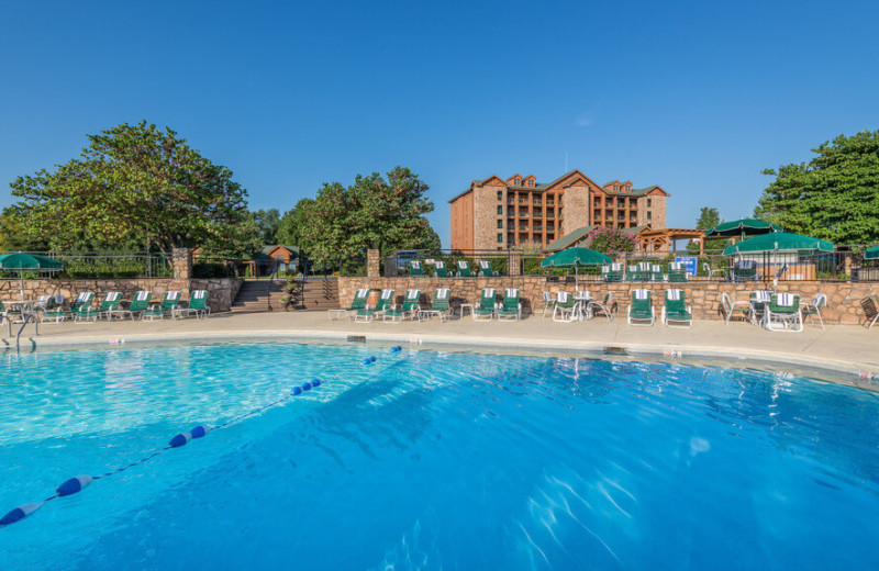 Outdoor pool at Westgate Branson Woods Resort.