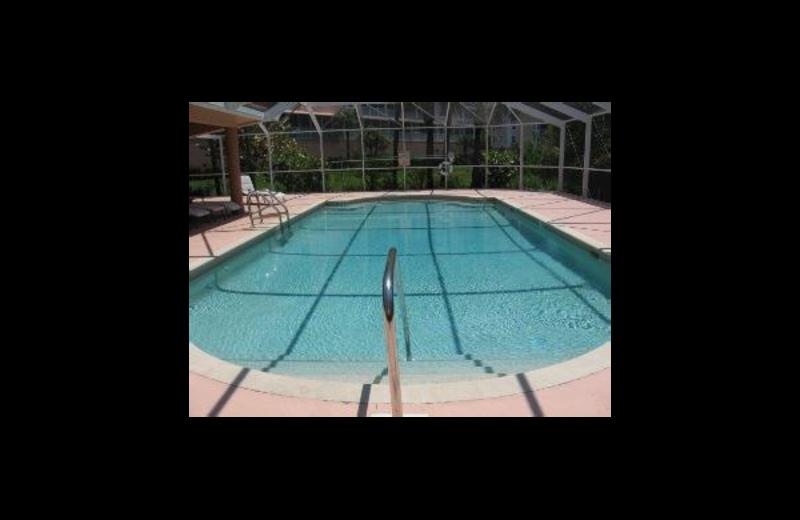 Vacation rental pool at Sunshine Resort Rentals, LLC.