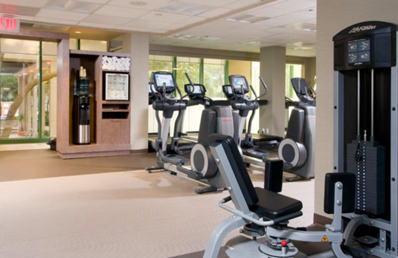 Gym View at  The Westin Hilton