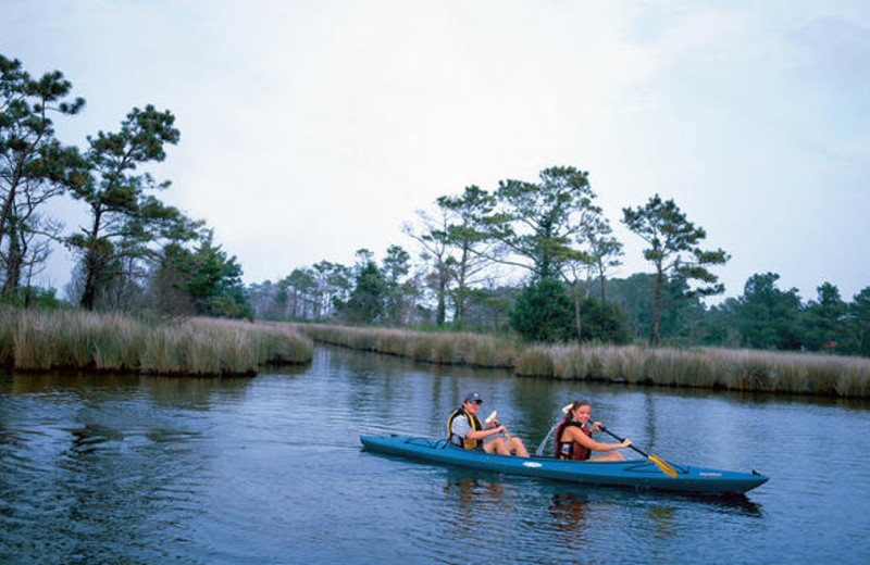 Canoeing at Ramada Plaza.