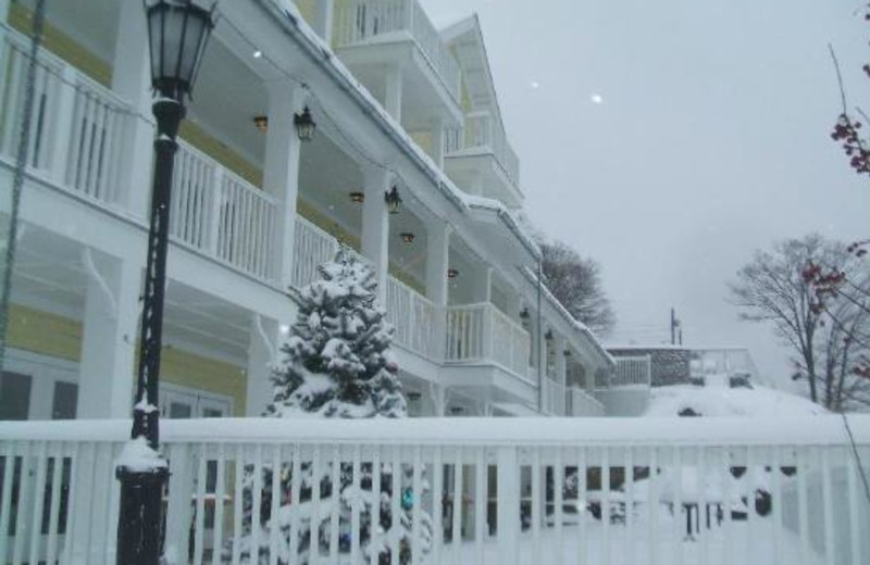 Winter time at The Rhinecliff Hotel.
