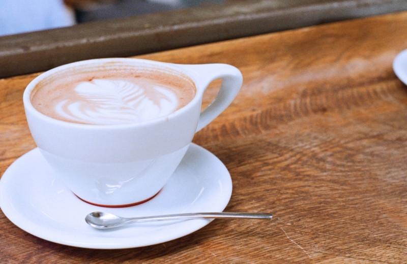 Coffee at Inn at Cape Kiwanda.