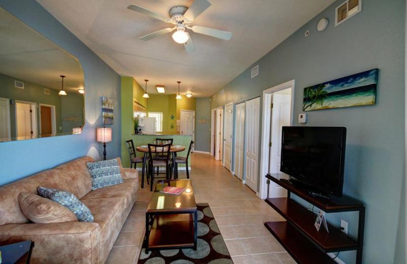 Rental interior at Sunsational Beach Rentals. LLC.