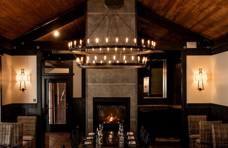 Dining at Applewood Inn, Restaurant and Spa.
