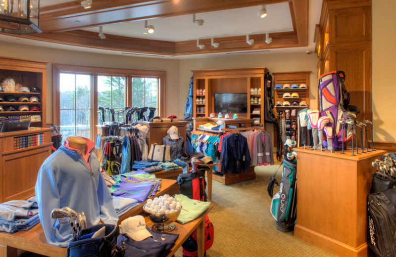 Pro shop at Boothbay Harbor Country Club.