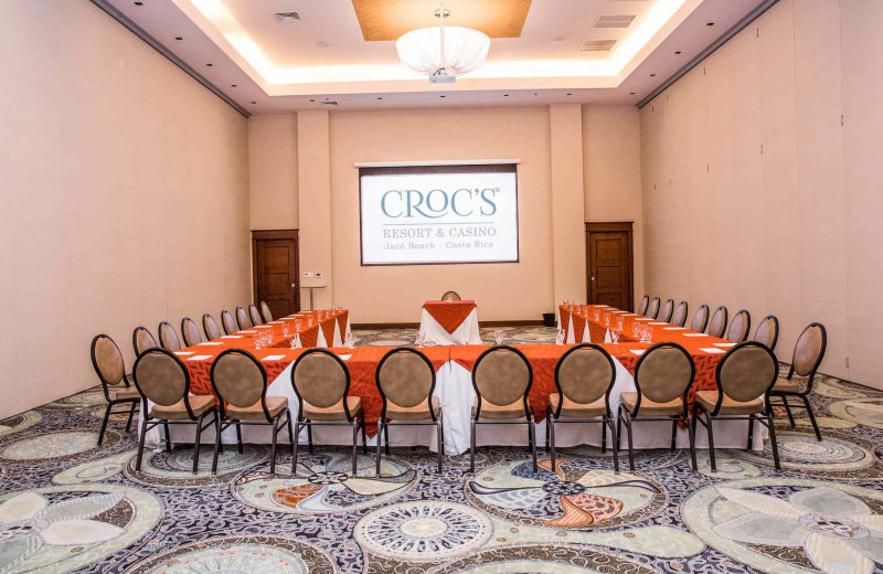 Meeting room at Croc's Resort & Casino.