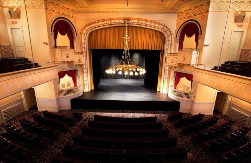 Theater near Lord Camden Inn.