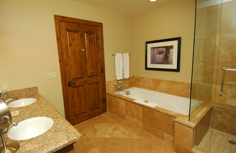 Rental bathroom at Frias Properties of Aspen - Hyatt Grand Aspen.