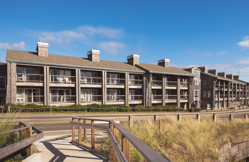 Exterior view of Inn at Cape Kiwanda.