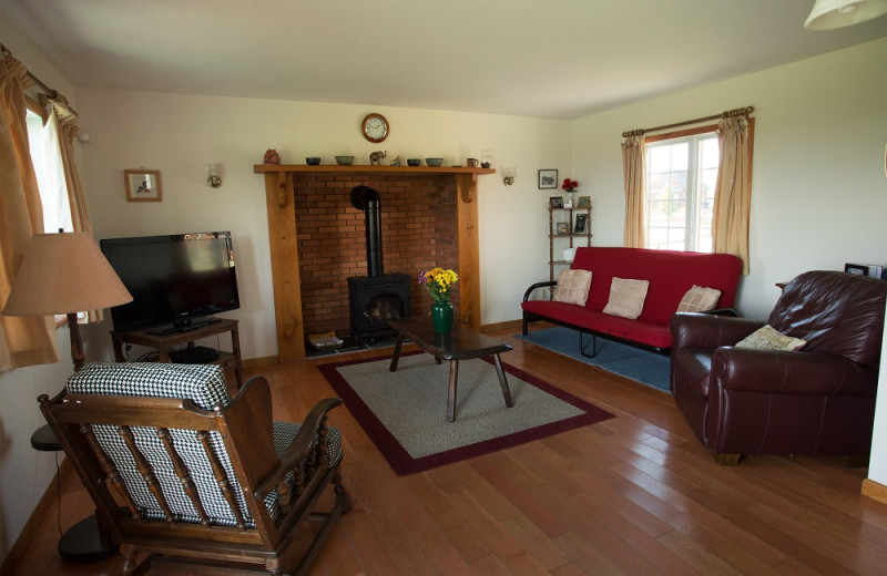 Rental living room at Cobtree Vacation Rental Homes.