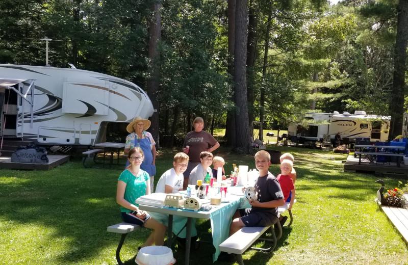 Groups at Pine Beach Resort-Side Lake.