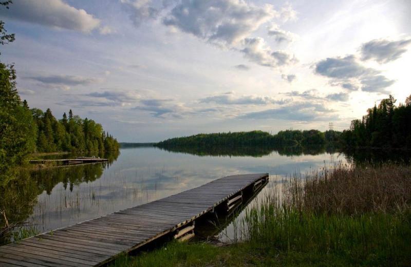Lake view at Uchi Lake Lodge.