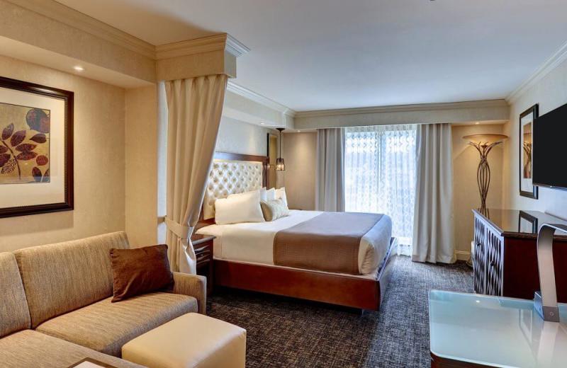 Guest room at Eden Resort and Suites.