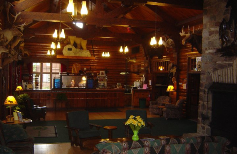 Interior view of Gateway Lodge.