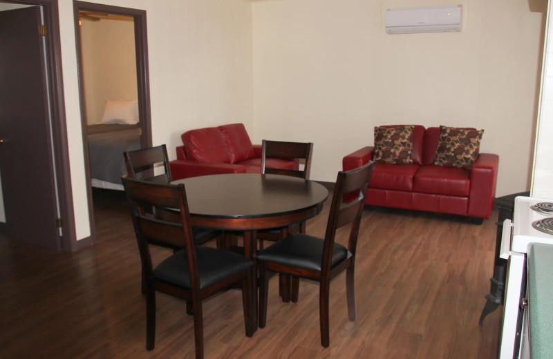 Guest room at Golden Beach Resort.