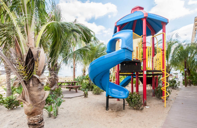 Playground at Clarion Resort Fontainebleau Hotel.