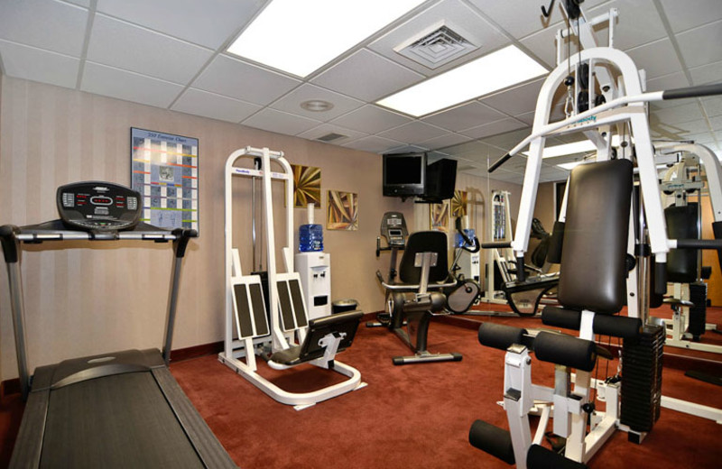 Fitness Room at Best Western Music Capital Inn