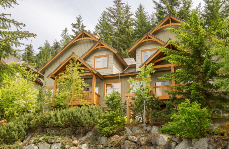 Rental exterior at Whistler Breaks.
