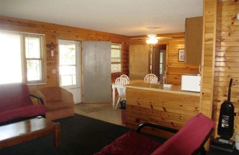 Bungalow Interior at Ice Cracking Lodge & Resort