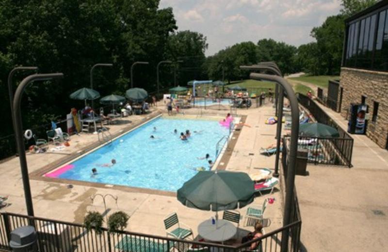 Outdoor pool at Louie B. Nunn Lodge.